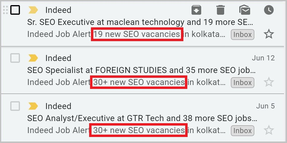 SEO jobs Indeed