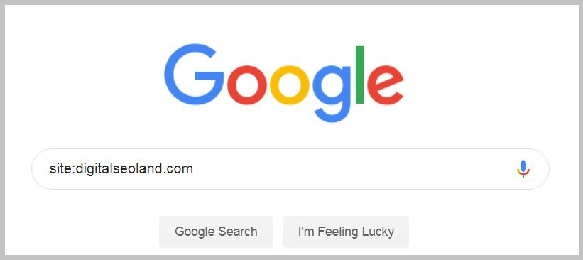 How mane pages Google Indexed