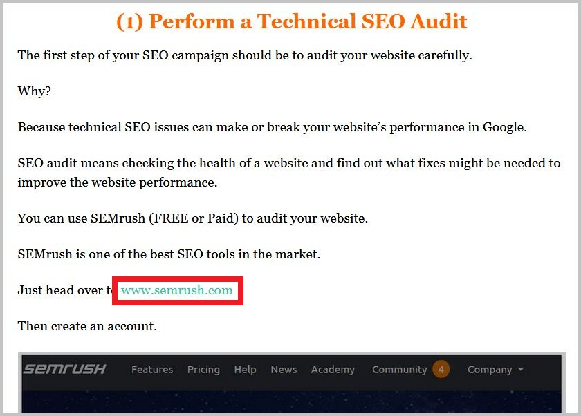 SEMrush is one of the best SEO tools