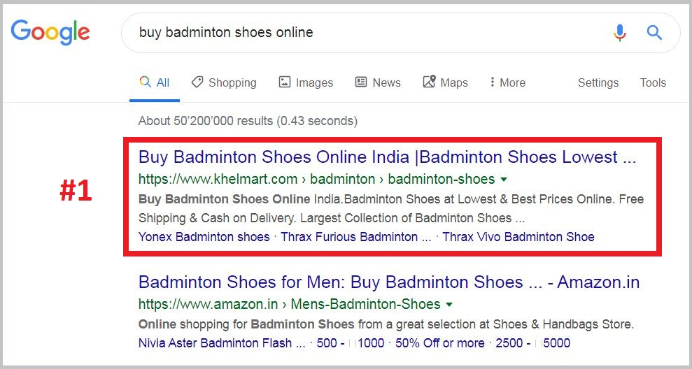 buy badminton shoes online