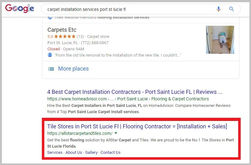 carpet installation services port st lucie fl