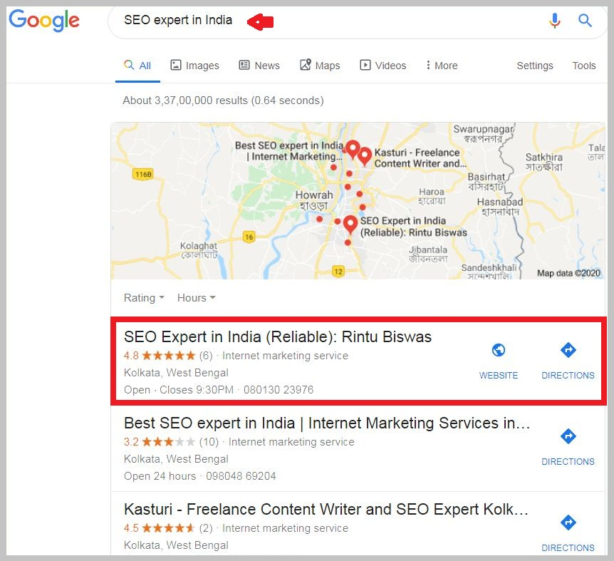 SEO expert in India review