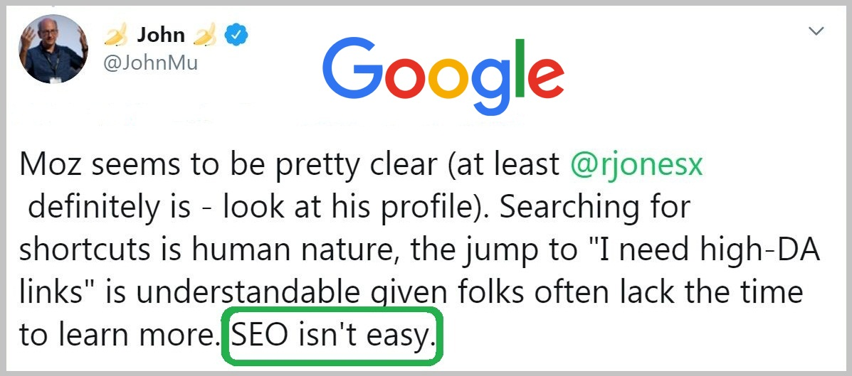 SEO is not easy