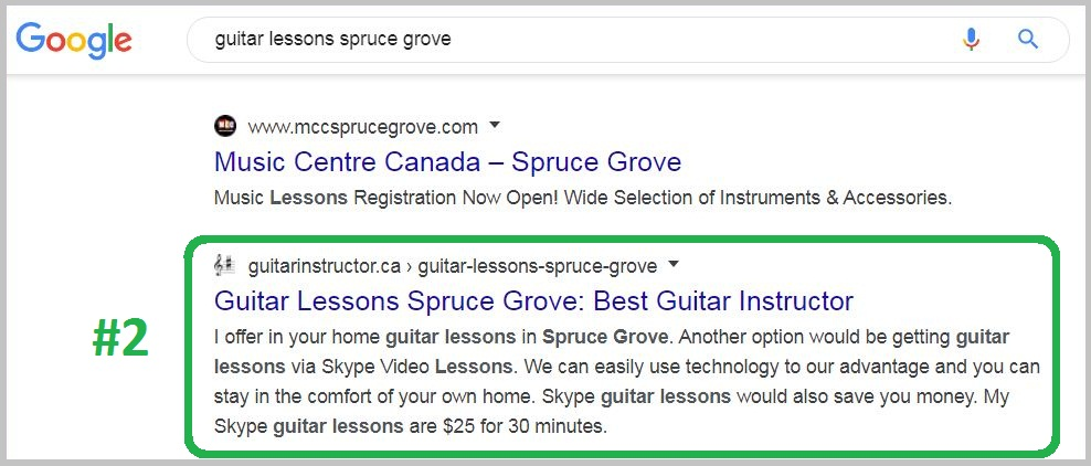 guitar lessons spruce grove
