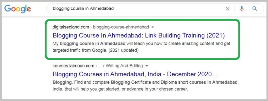 blogging course in Ahmedabad